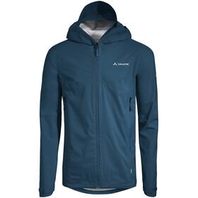 VAUDE Simony 2,5-Layer Jacket IV Men, niebieski